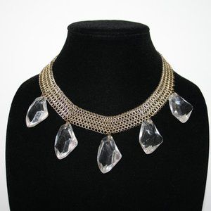 Beautiful vintage gold necklace